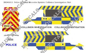 Police Scotland LWB HR Ford Transit Collision Investigation Unit